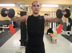 Dumbbell Side Raise, Strength Training