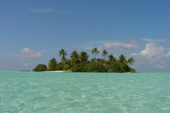 An Island In The Maldives