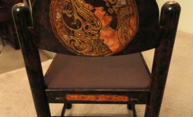Finished Art Nouveau Charming Chair Back