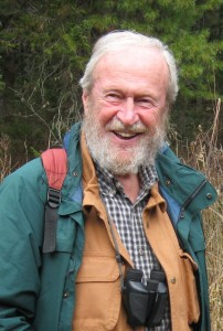 Wildlife biologist, John Bindernagel