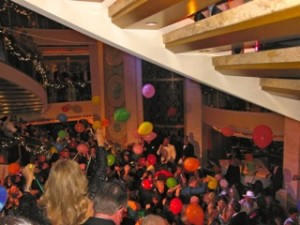 New Years Eve on the Promenade Deck