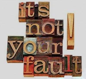 """It is not your fault""  © Marekulias... | Dreamstime.com"