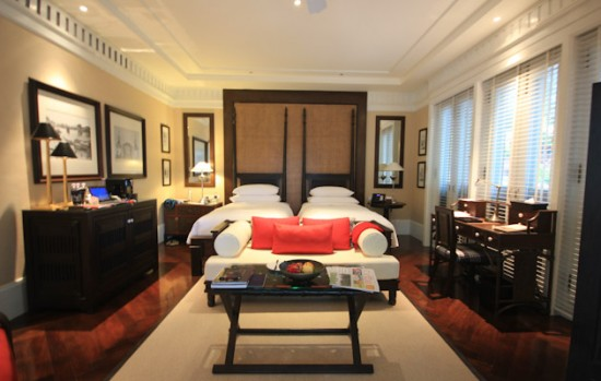 Bedroom in the East Borneo Suite