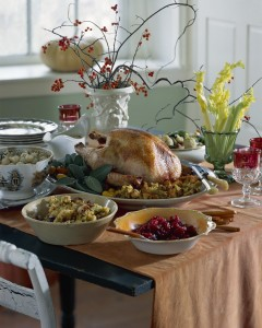 A Holiday Feast! Moderation is the key ...