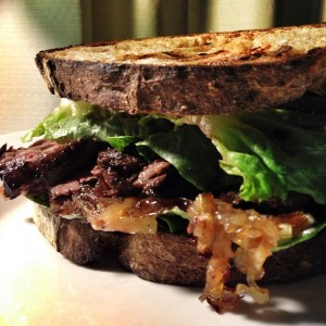 The Rustic Steak Sandwich
