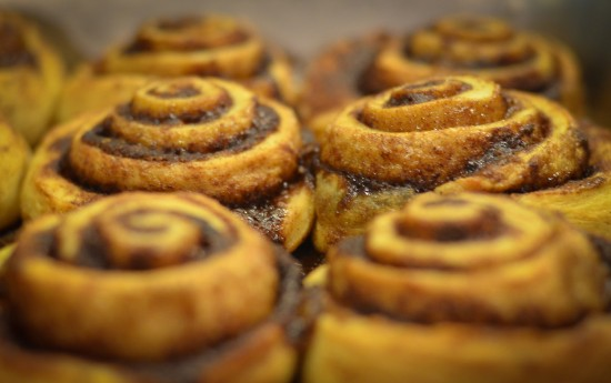 Lost + Found Cafe - cinnamon buns