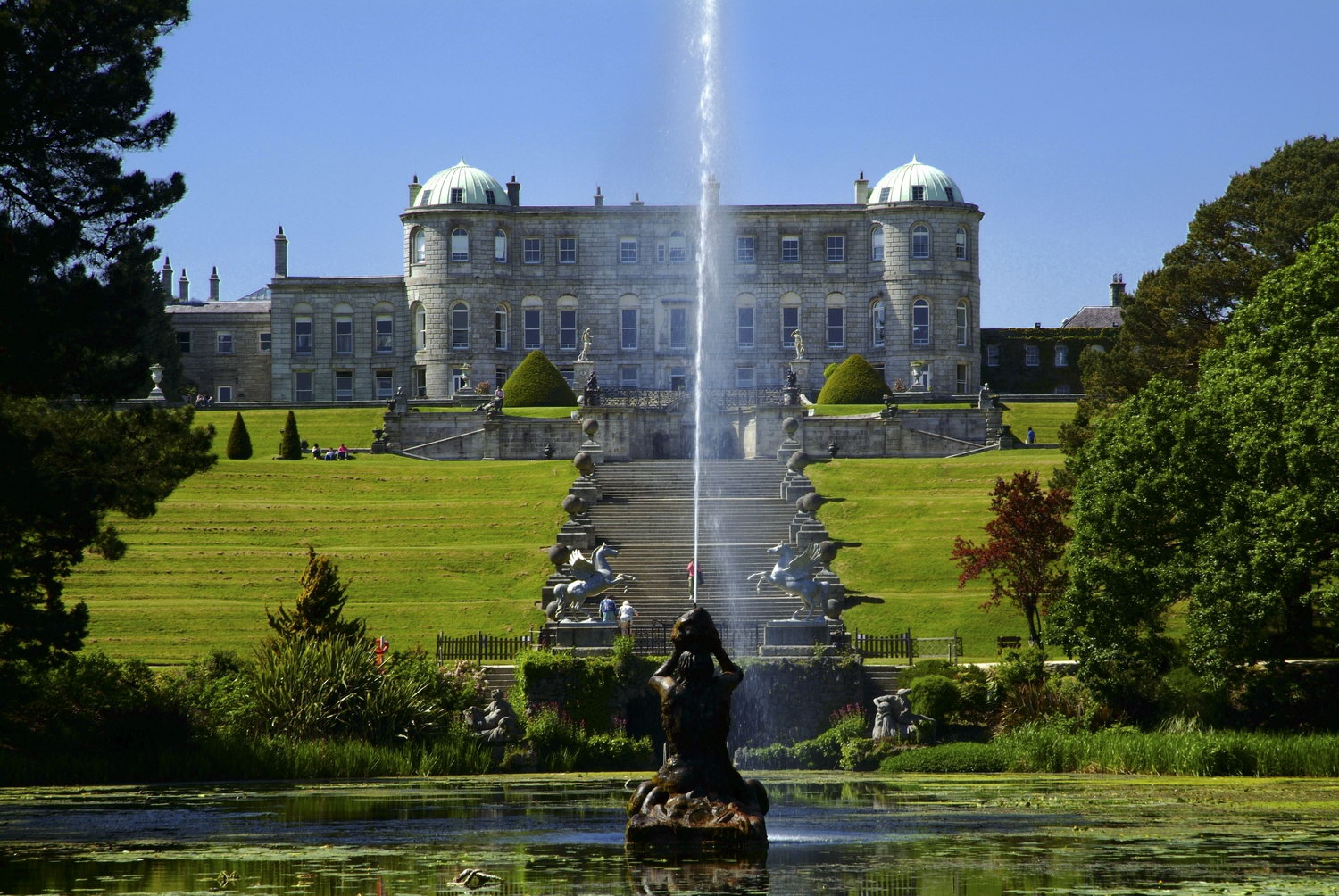 Life As A Human Ireland 3 Ireland Powerscourt House And Gardens County Wicklow Picture