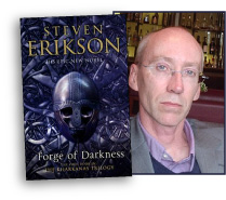 Author Steven Erikson