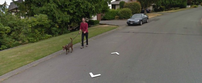 Google Street View - Jazz Dog and Gil