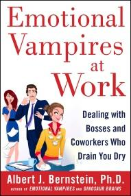 Get 'Emotional Vampires at Work' On Amazon