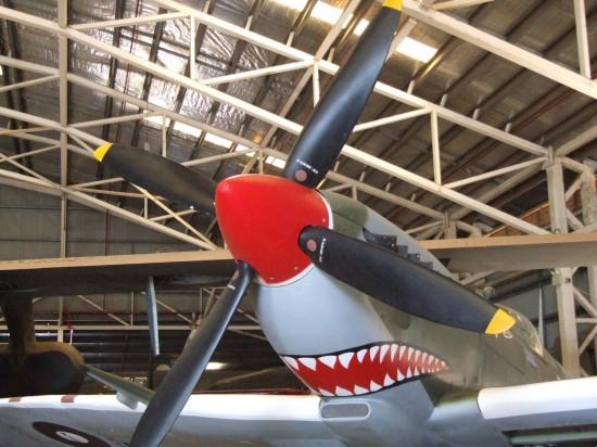 Darwin: Replica Mk VIII Spitfire - Australian Aviation Heritage Centre (c) Vincent Ross.