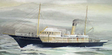 Painting Of The SS Ethie