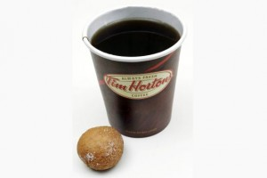 Coffee and The Timbit