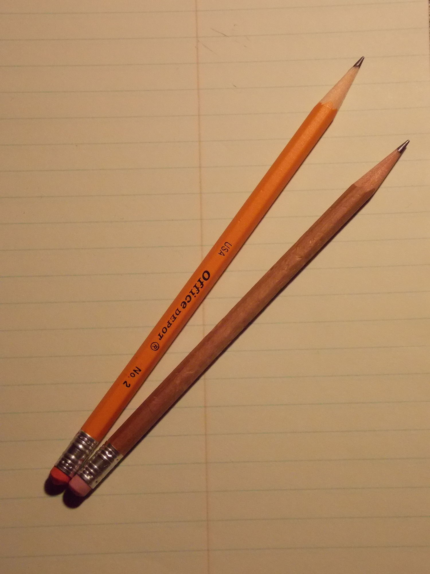 Pencil And Paper Test Pencils when was the last time