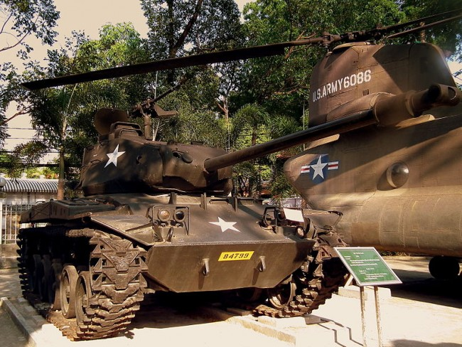 War Remnants Museum, Saigon Vietnam – January 2012