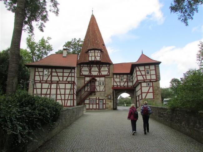 A Town Gate in Iphofen
