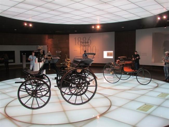 First automobiles - Mercedes Benz Museum