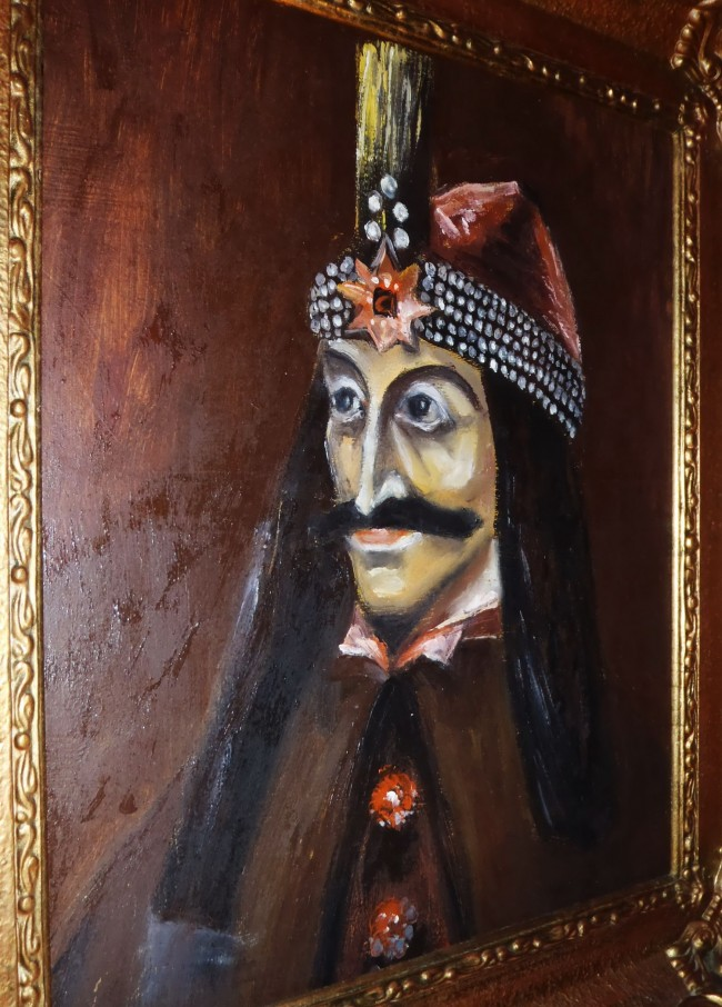 A copy of the only known painting of Vlad