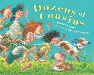 Dozen of Cousins Book cover illustrated by David Catrow