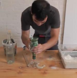 Ben Making A Vase