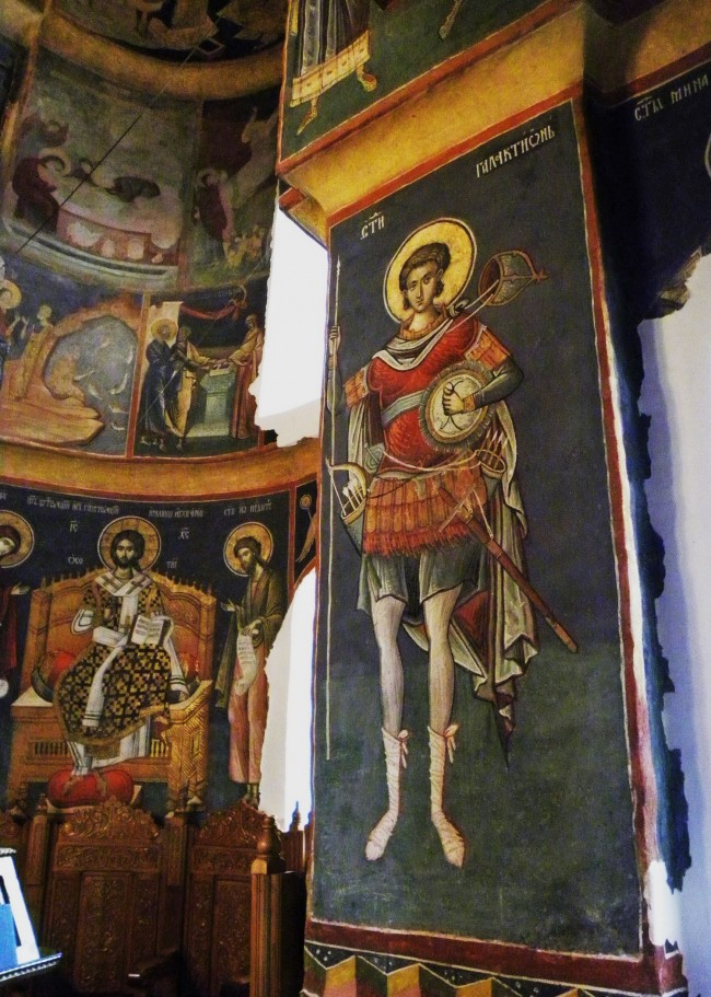 Murals in the monastery