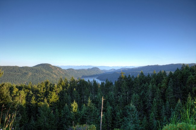 High Atop The Malahat - Vancouver Island, BC, Canada