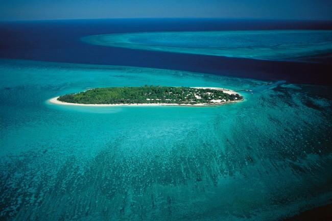 Aerial of Heron Island
