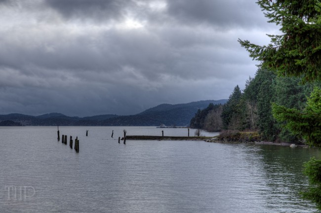 Ocean Scene - Cowichan Valley Region, Vancouver Island, BC, Canada