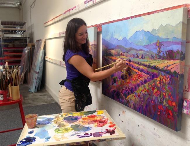 Erin Hanson - Studio