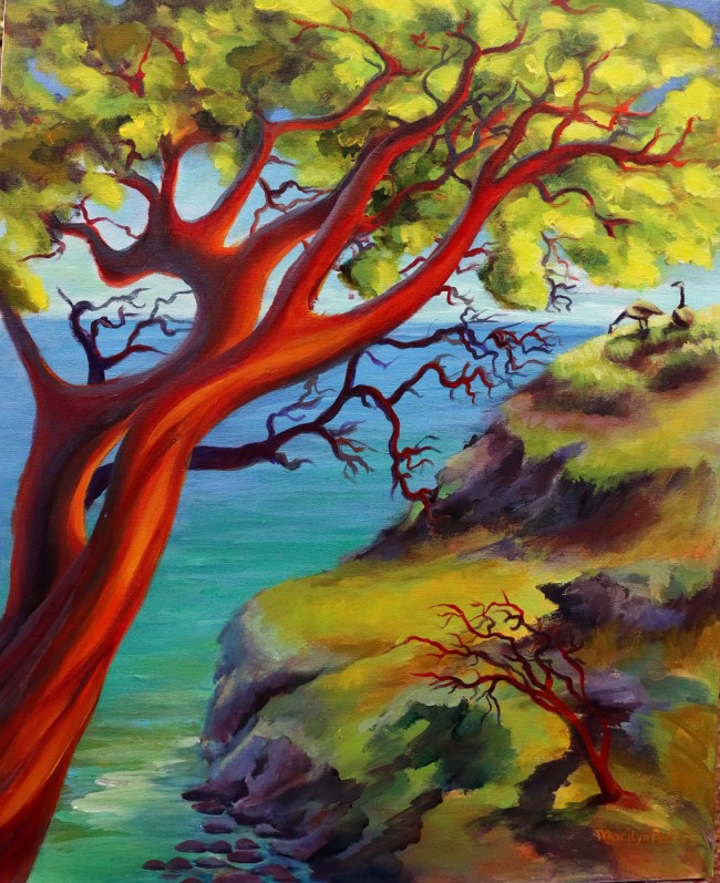 Sacred Tree by Marilyn Peeters