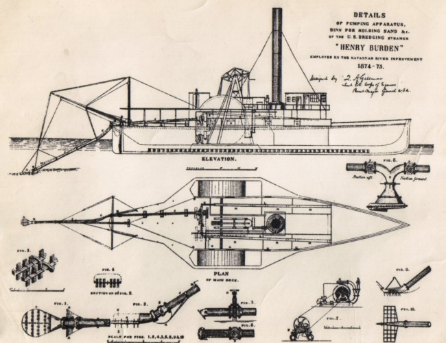 First dredge for the corps