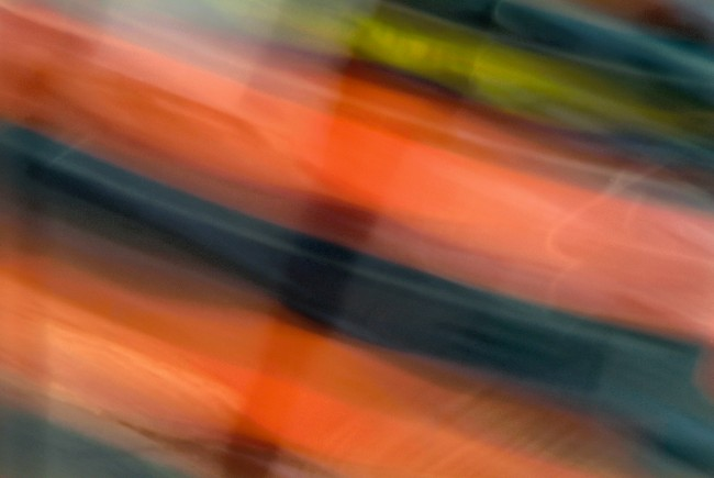 1 glossy orange green blue candy layers, 2013 © William Oldacre