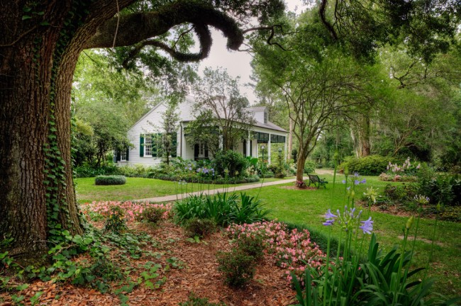 Burden House, Burden Gardens:  Louisiana State University