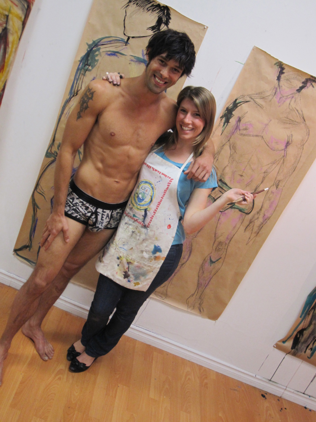 Drawn to Men Art Parties #2