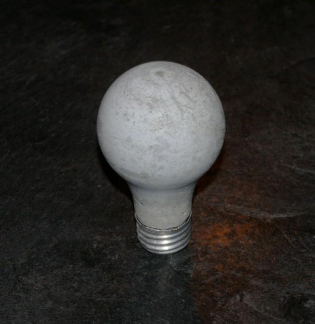Concrete Light Bulb