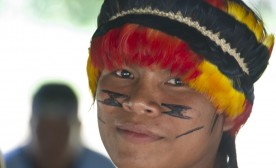 UNL Students Form Bonds with Achuar Children
