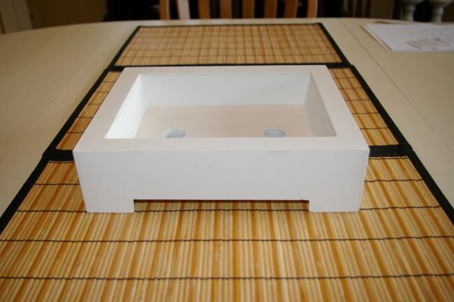 Concrete Bonsai Pot 8
