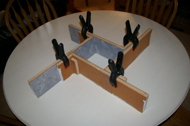 Concrete Configurable Mold Clamped