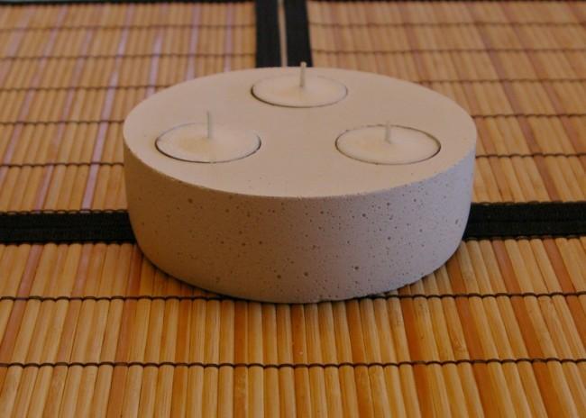 Second Concrete Tea Light