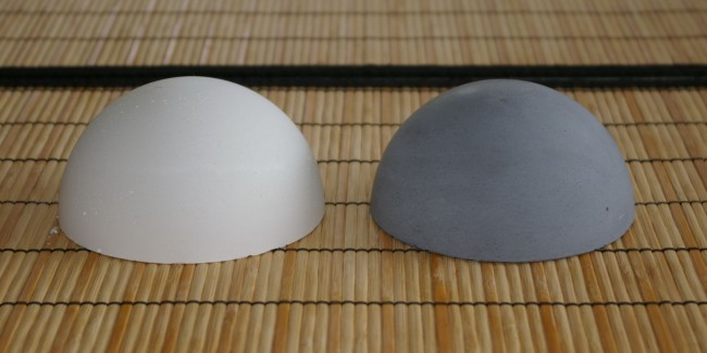 Concrete paper weights - Ying And Yang