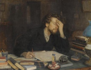 Throes of Creation By Leonid Pasternak