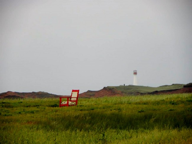 Chair and Lighthouse - Etang-du-Nord