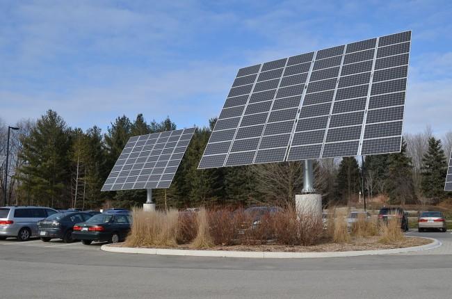 Solar Panels at Earth Rangers Centre