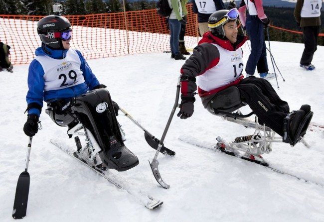 VASS sit skiers