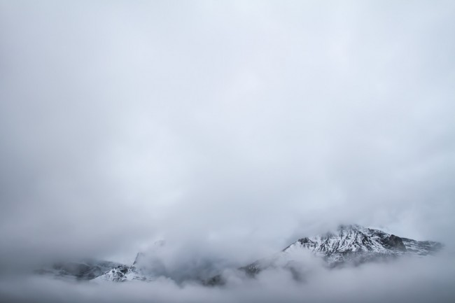 Clouds Covering Mountains © Gabriel Harding