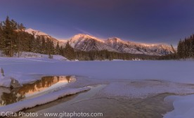 Winter Snow – A Necklace for the Rockies
