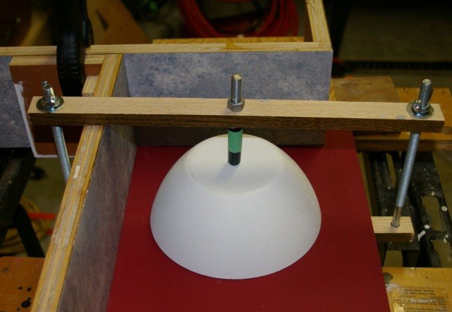 Mold for concrete floater and candle