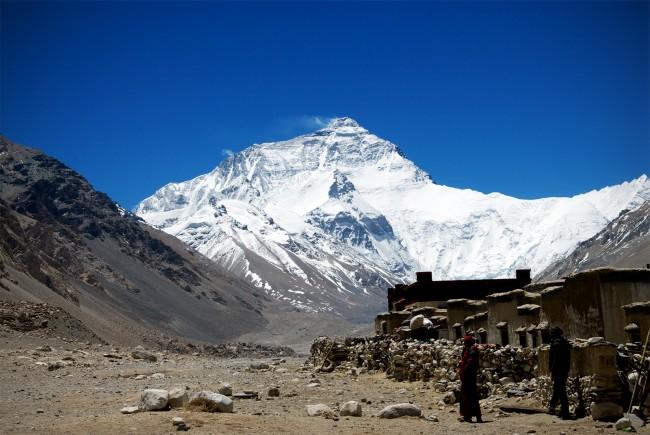 Mount Everest Basecamp Number One at 18300ft
