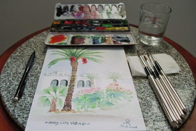 Art therapy - watercolour