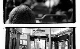 Bus People Diptych